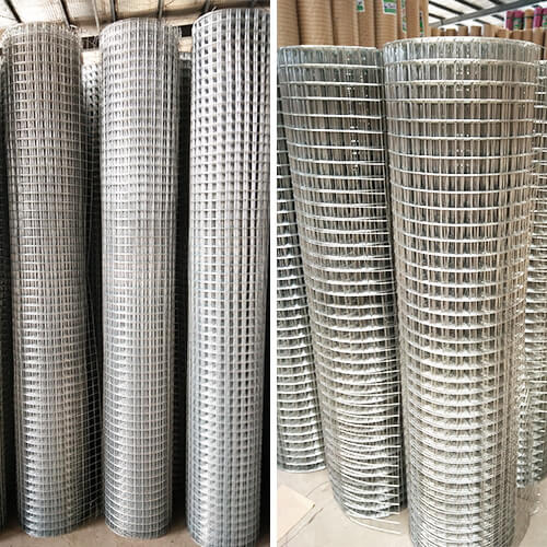 electro galvanized welded wire mesh4